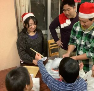 クリスマスボランティア